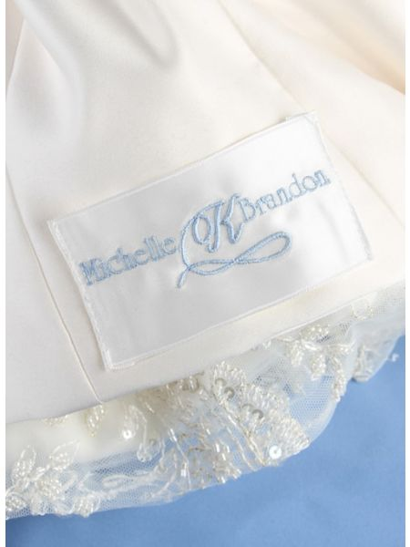 Dress Label, First Names w/Single Initial, White