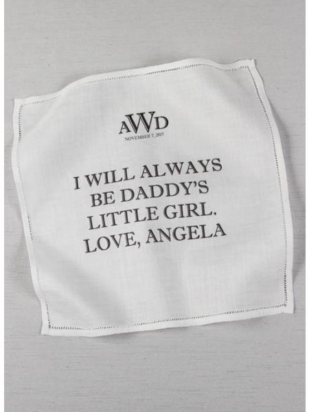 I Love You Dad Handkerchief