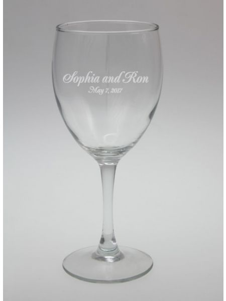 Names and Date Glassware