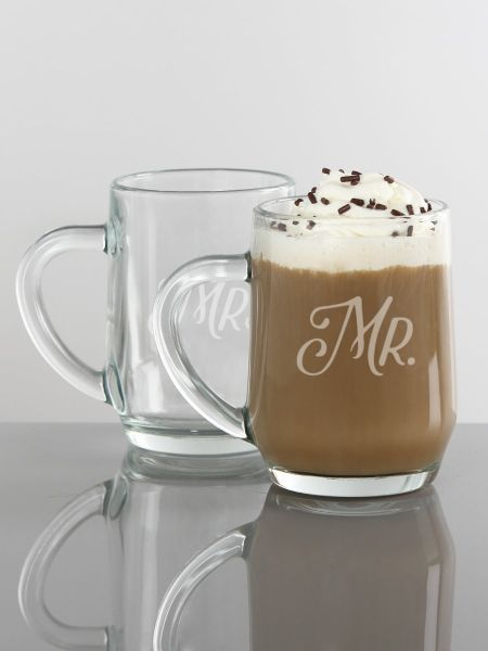 Mr. & Mrs. Mug Set