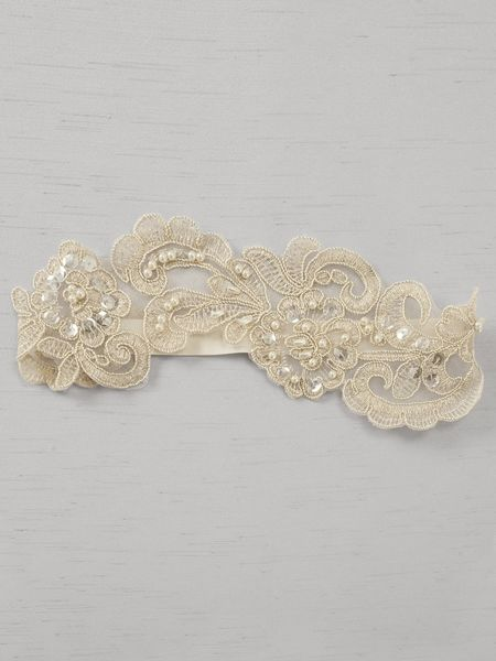 Ella Applique Garter