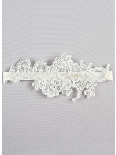 Aria Applique Garter