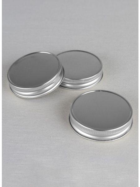 Mason Jar Lids 3pk, Silver