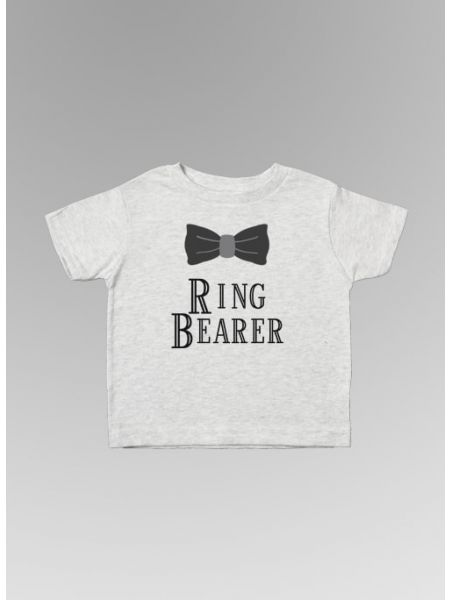Ring Bearer w/Bowtie Toddler Tee