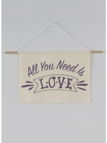 All you need is Love Canvas Sign