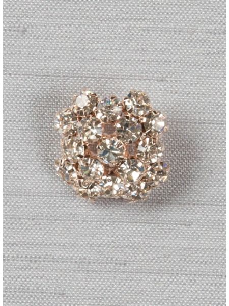 "Garbo 1/2"" brooch, xs, Rose Gold"