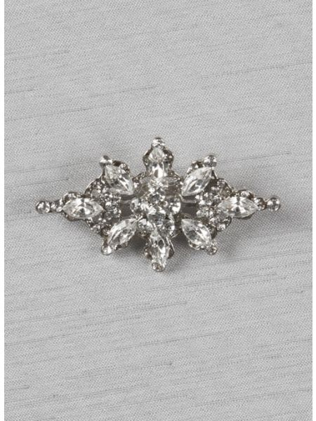 "Isabella 2"" brooch with pin, small"