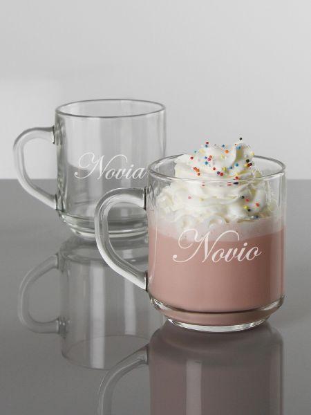 Novia & Novio Mug Set