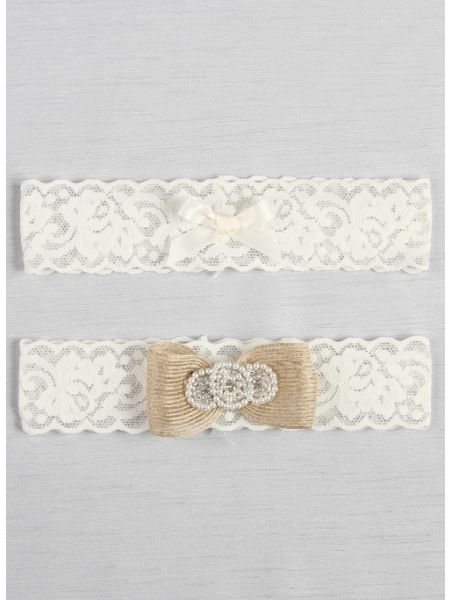 Savannah Bridal Garter Set