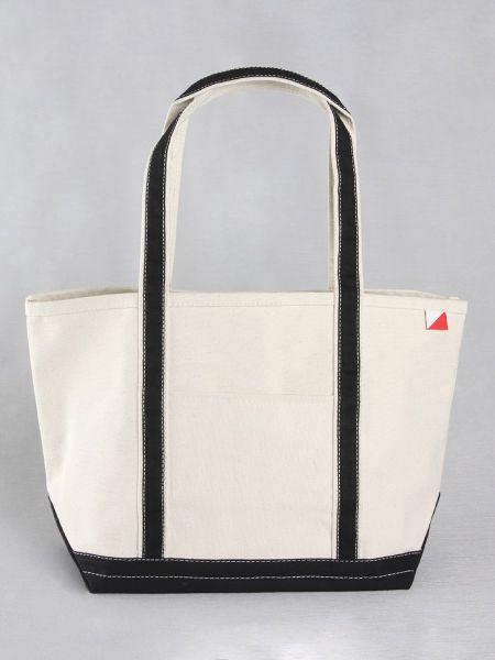 Classic Canvas Tote Bag - Black
