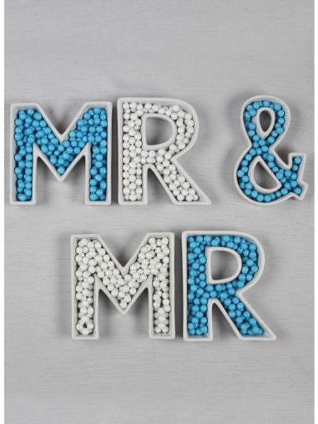 Mr. & Mr. Stoneware Dish Set