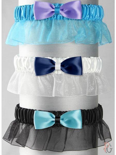 Bella Custom Bow Tie Garter
