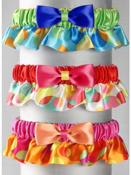Jessie Custom Bow Tie Garter