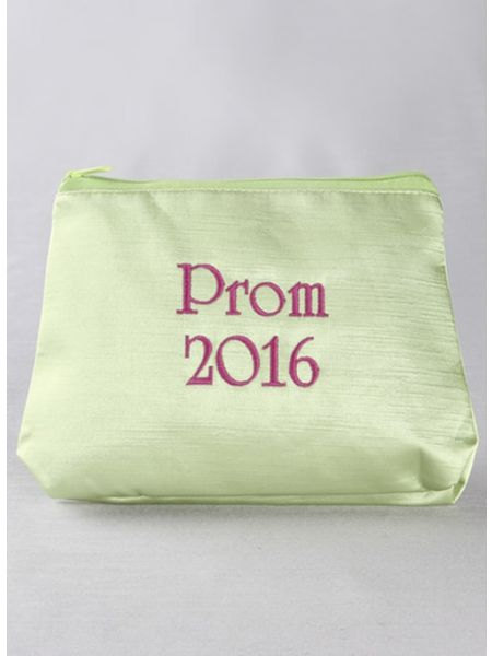 Prom & Year Embroidered Cosmetic Bag