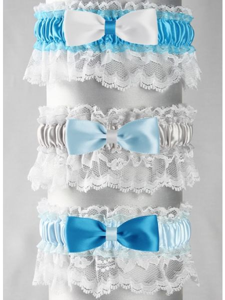 Marilyn Custom Bow Tie Garter