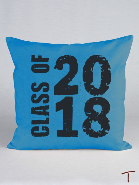 Class of... Canvas Pillow