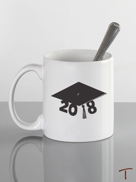 Graduation Cap Ceramic Mug