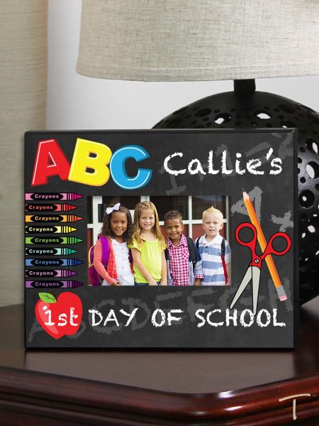 Tenereze Exclusive | First Day of School Frame