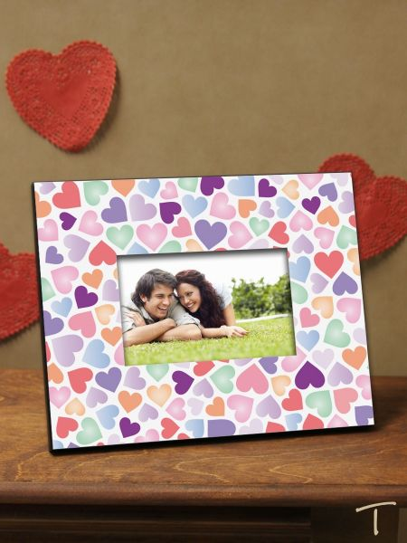 Tenereze Exclusive | Colorful Hearts Frame