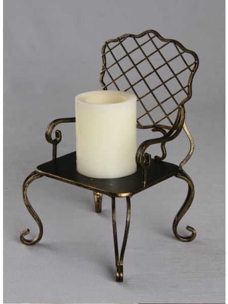 Armchair Candle Holder