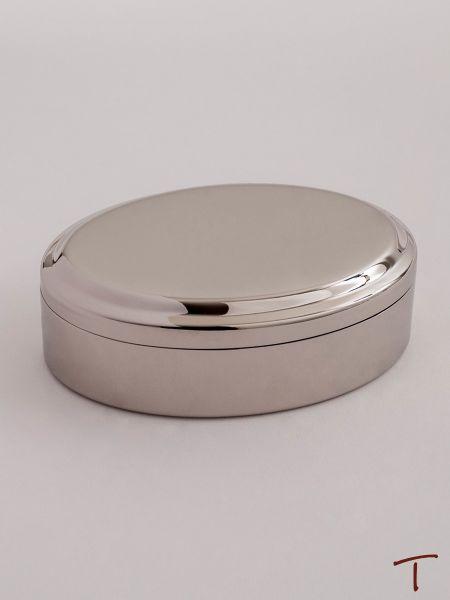 Oval Lift Top Jewelry Box