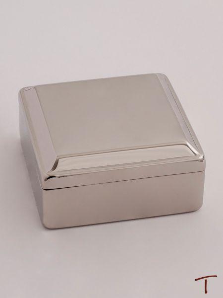 Square Lift Top Jewelry Box
