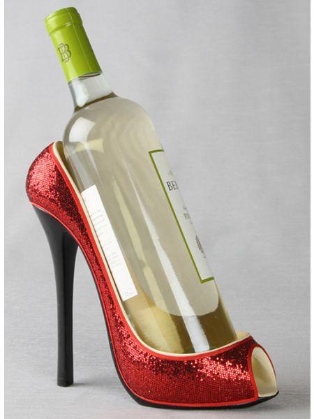 High Heel Red Bottle Holder